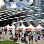 Artists Exhibit at Festival in Millennium Park