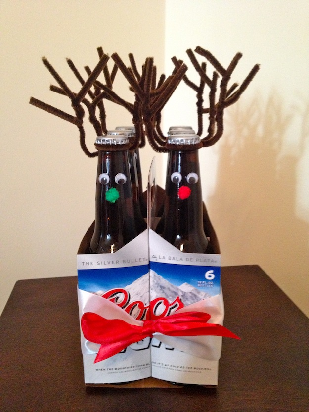 Easy-Peasy, DIY Gift for MEN: Rudolph, the Red Nosed ...