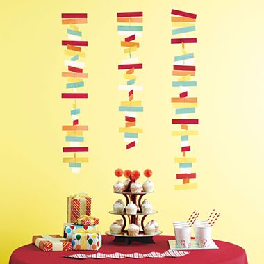 Martha Stewart Paper Strip Garland