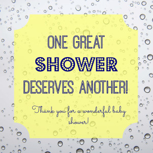 Shower Host Thank you Tag