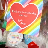 Rainbow Themed Goody Bags