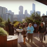 Chicago Rooftop Media Event