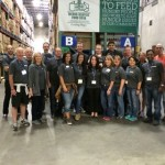 C&W Industrial Gives Back event at Spring Conference