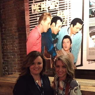 Conference attendees tour the Johnny Cash museum